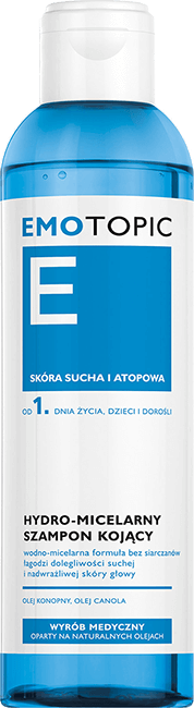 Emotopic - hydro-micelarny szampon kojący