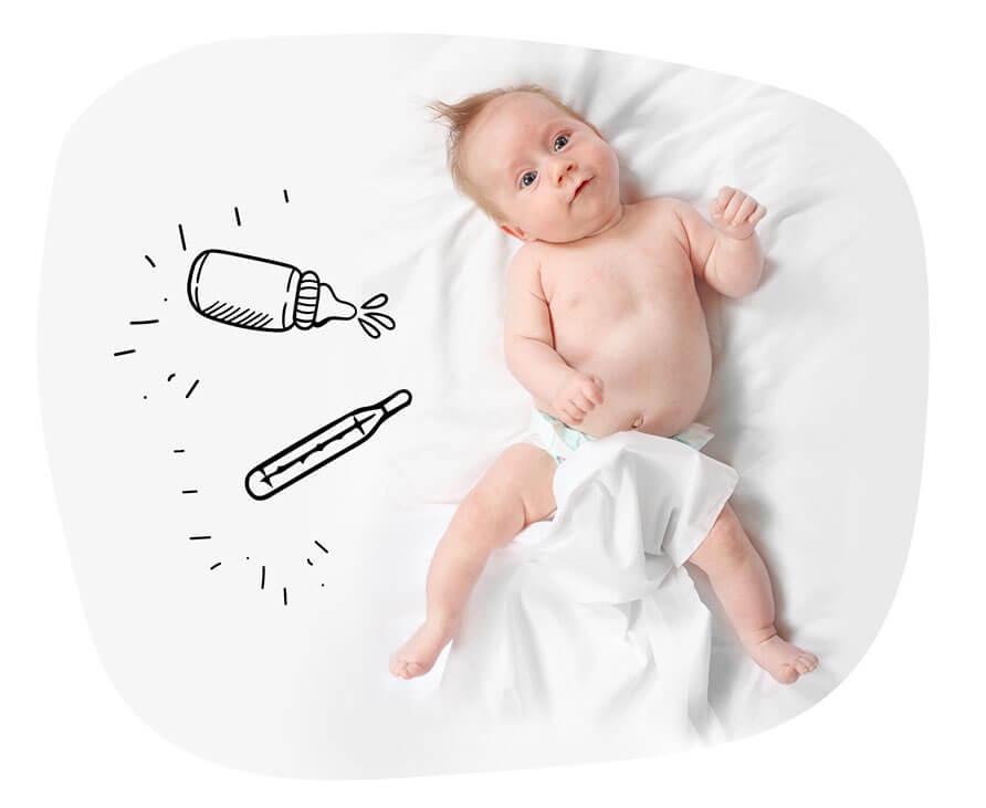 Biegunka, wymioty i odwodnienie - jak postępować, aby pomóc dziecku?