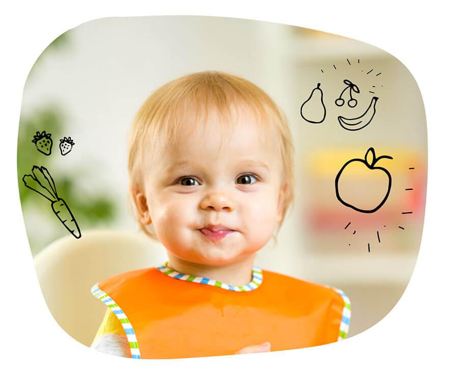 Od kiedy karmić dziecko owocami?
