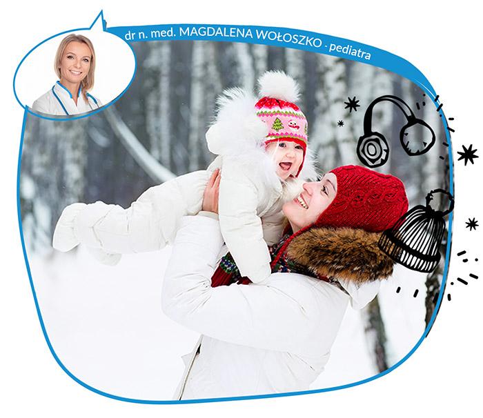 Hartowanie dziecka zimą bez powikłań, ochrona skóry przed zimnem i mrozem