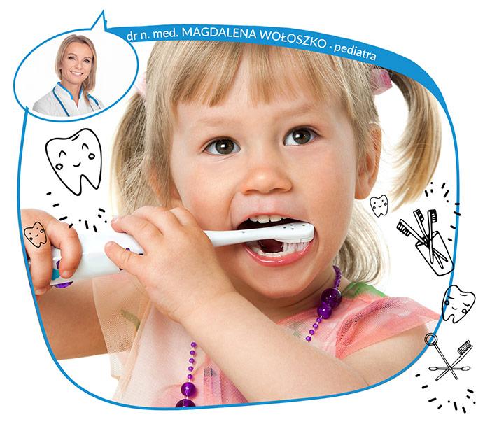 Higiena ząbków u dzieci. Pierwsza wizyta z dzieckiem u stomatologa