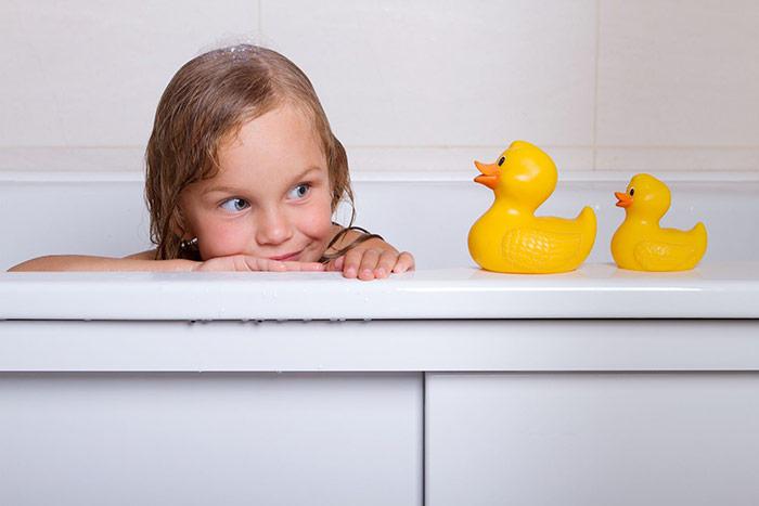 Nauka zasad higieny u dziecka