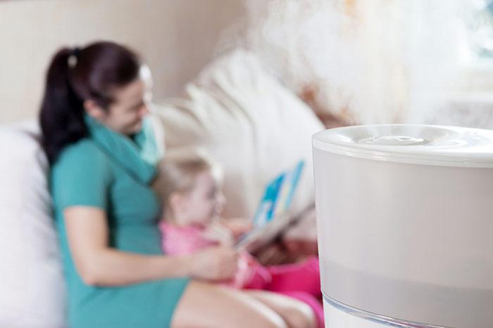 Nawilżacz powietrza do pokoju dziecka