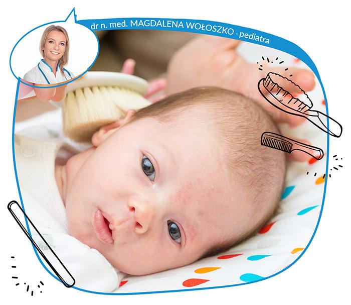 Pielęgnacja włosów i paznokci u małych dzieci