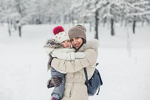 Odpowiedni obiór maluszka w zimę
