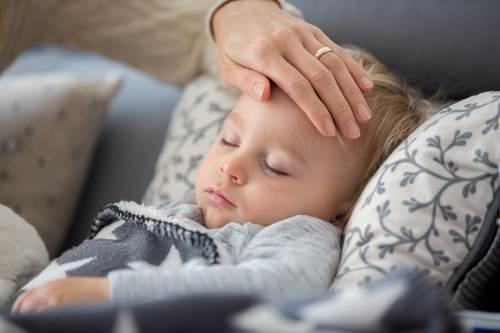dziecko chore na covid