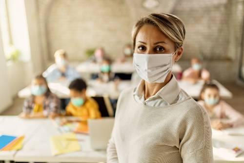 szkoła podczas pandemii